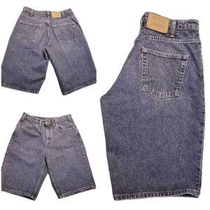 Vintage Levi's 535 High Rise Jean Shorts